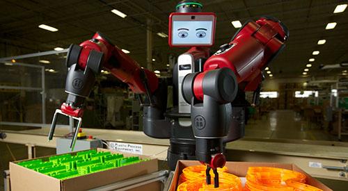 Коллаборативный робот Baxter
