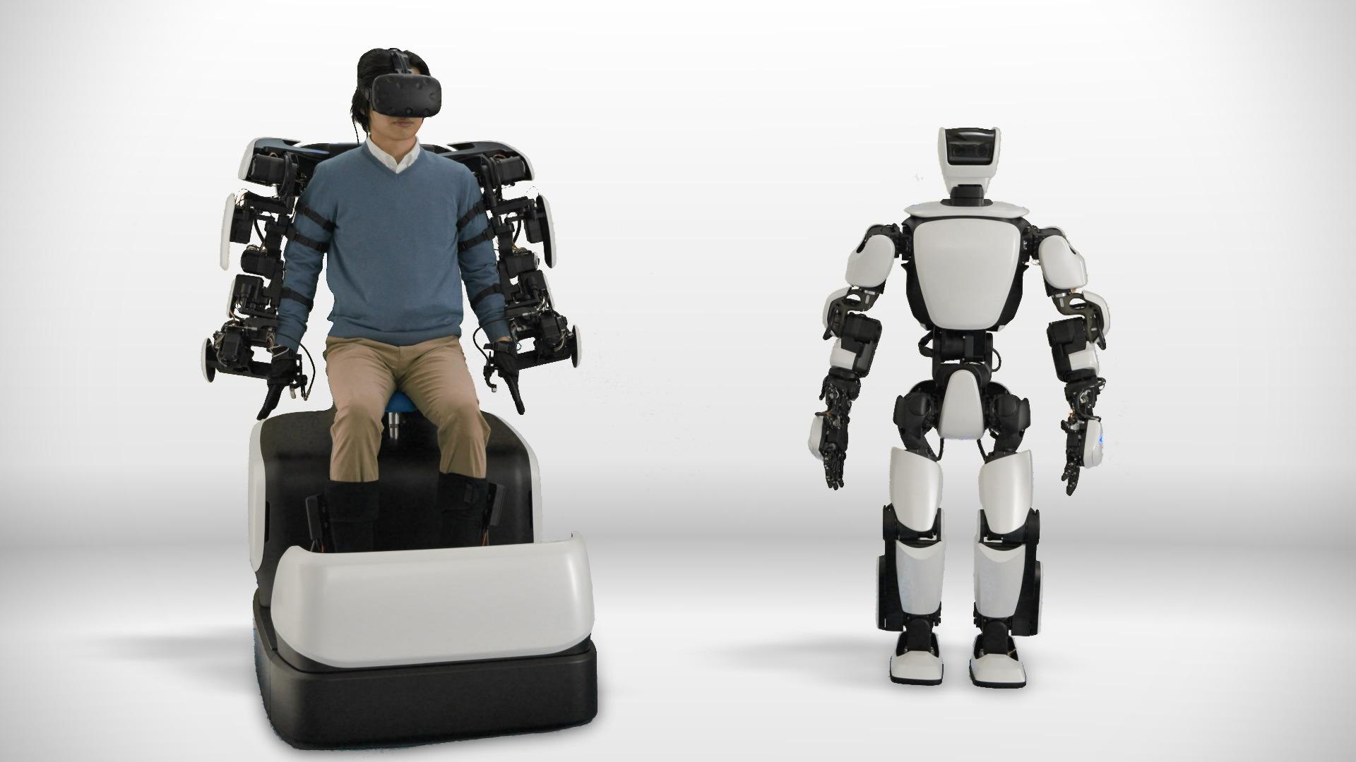 Робот с VR-управлением и силовой обратной связью от Toyota
