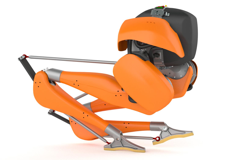 Робот-казуар делает первые шаги