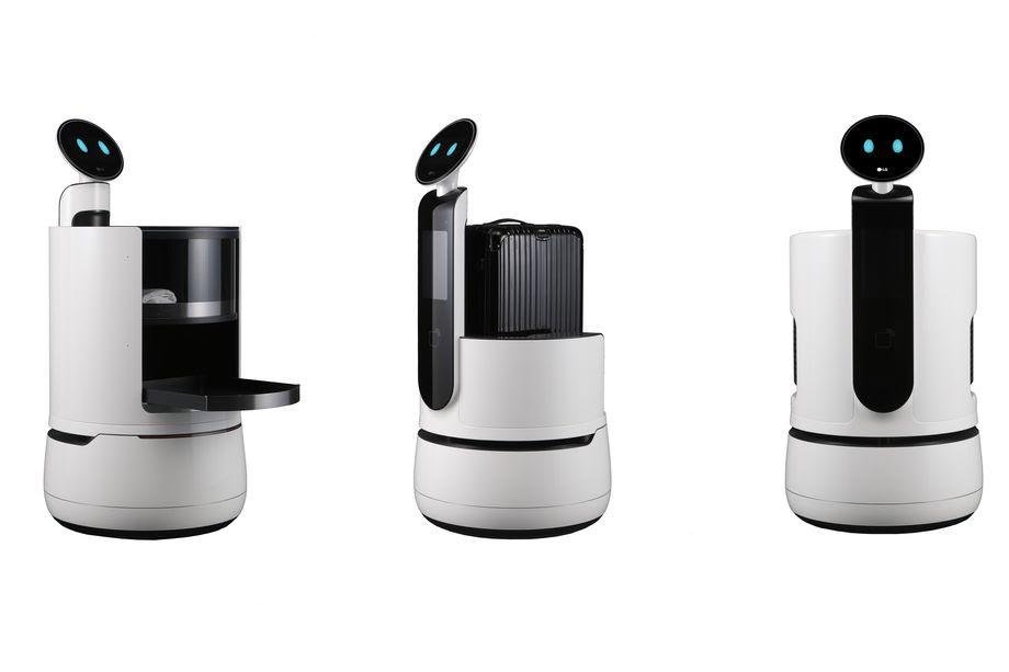 Новые роботы от LG будут представлены на выставке CES 2018