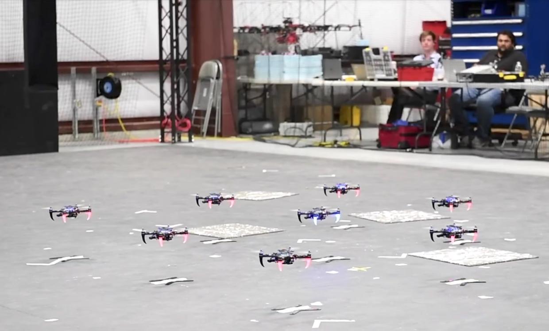 Квадрокоптеры научились летать автономно без использования GPS
