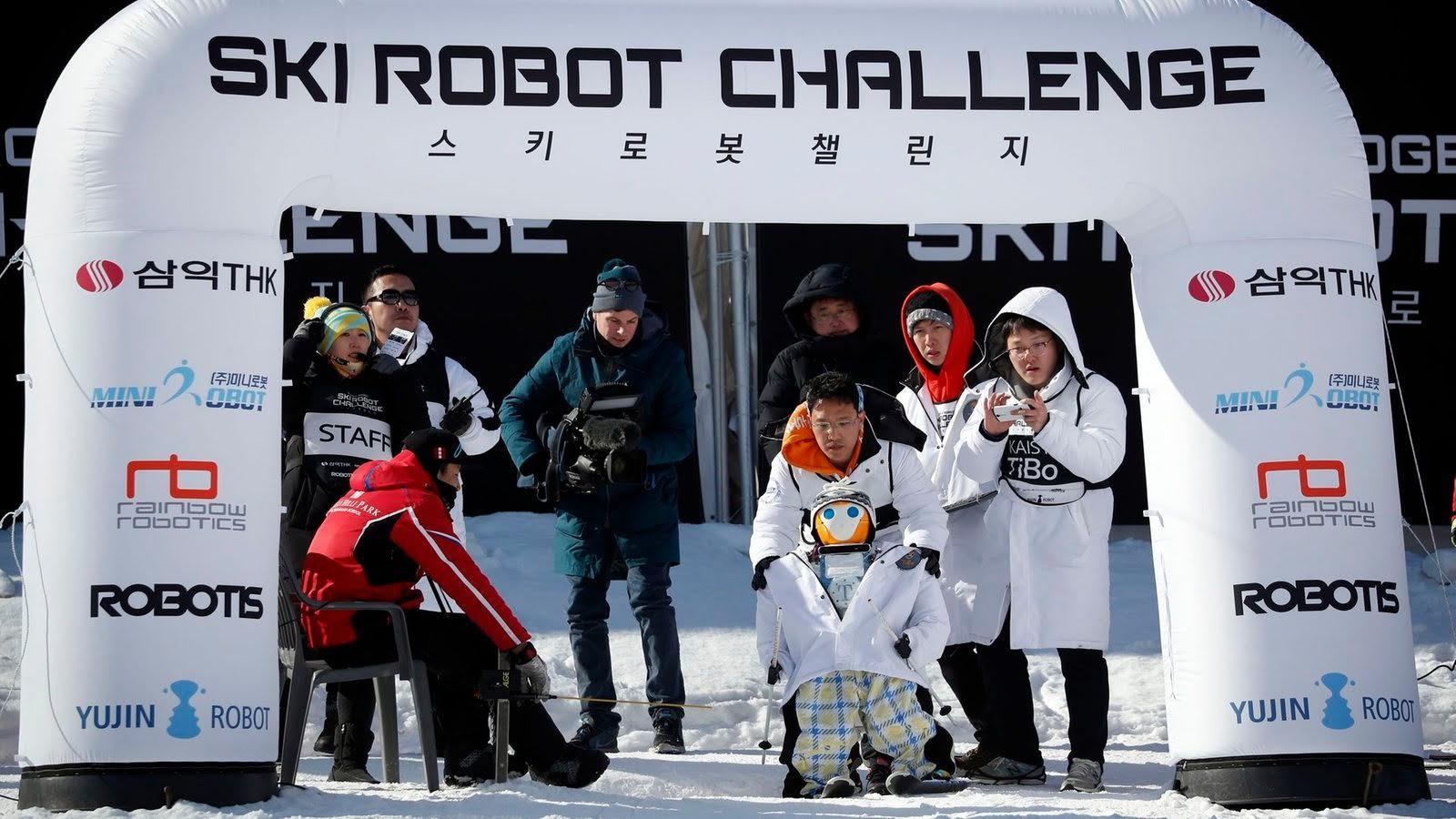 Зимние Роболимпийские игры 2018