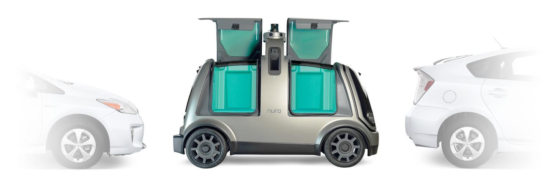 Nuro готовит революционный сервис доставки
