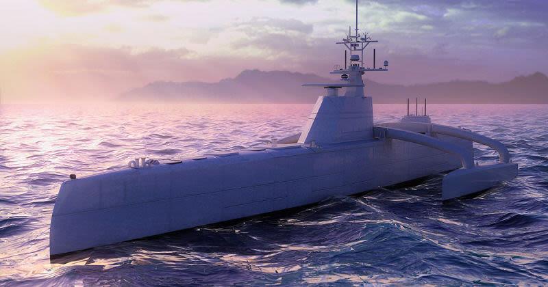 Робот «Морской охотник» на службе ВМФ