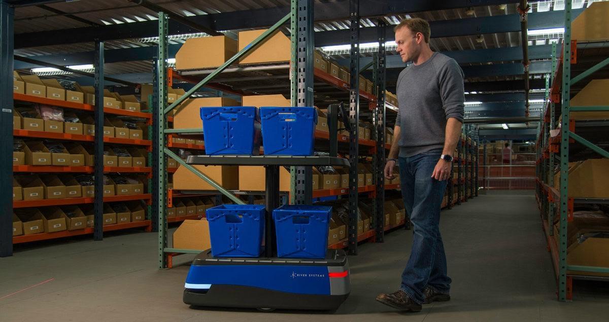 Робот Чак и автоматизация за пределами конвейера