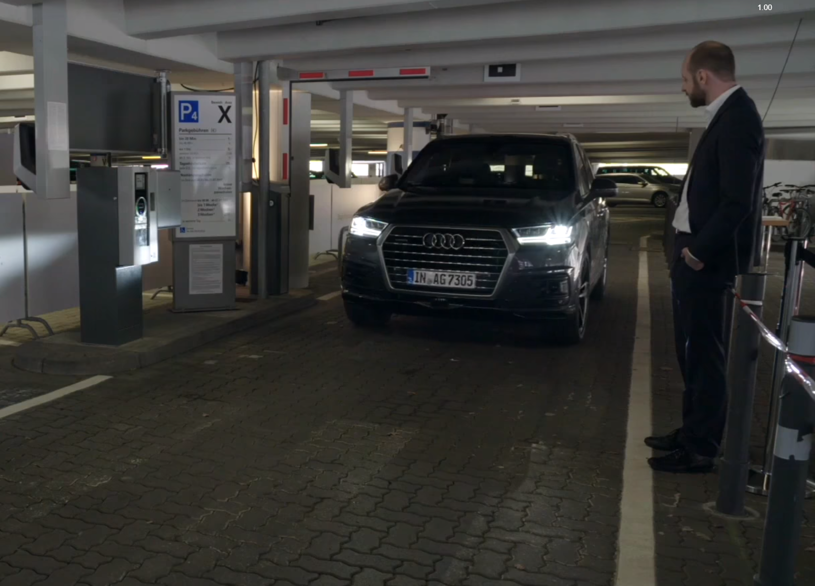Роботизация автомобилей: полностью автономная парковка