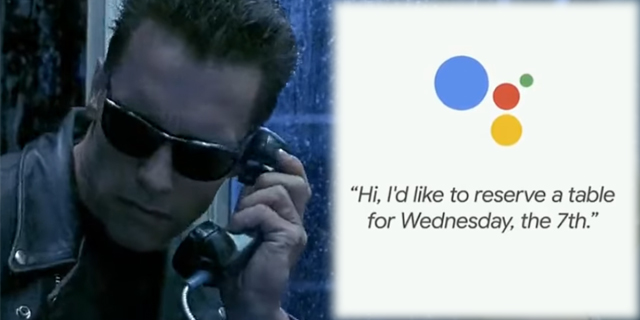 Google Duplex позвонит вместо вас