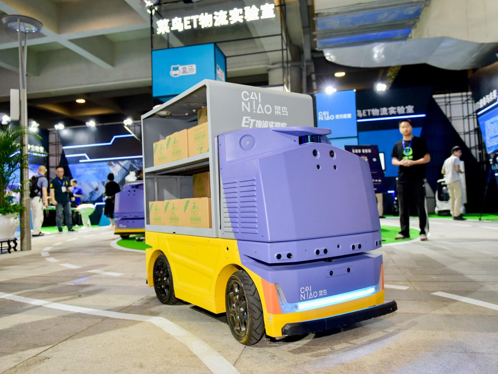 Alibaba и RoboSense запускают доставку колёсными дронами