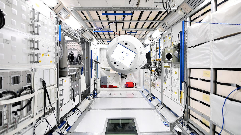На МКС доставлен робот с ИИ