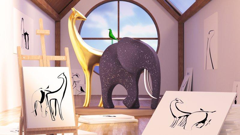 DeepMind разработало ИИ, создающий 3D-объекты из 2D-изображений