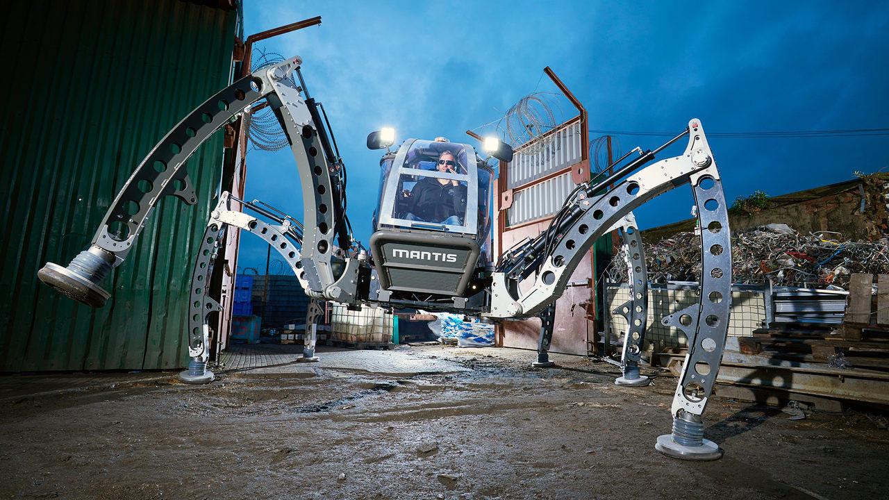 Как создавался самый большой робот-паук