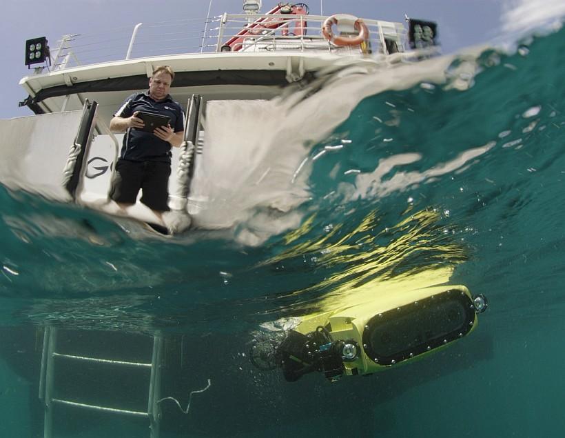 Роботы заселят Большой Барьерный риф