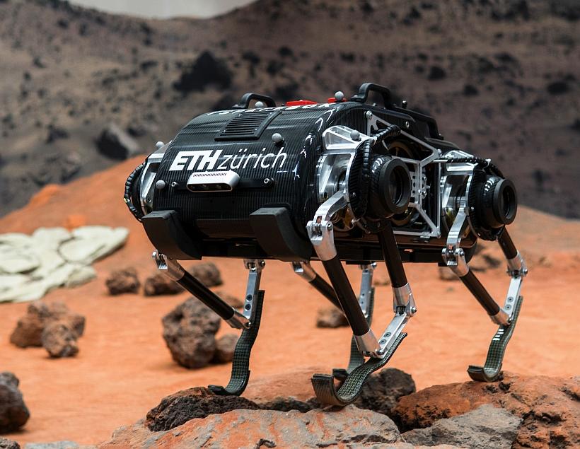 SpaceBok — прыгающий робот вместо марсохода