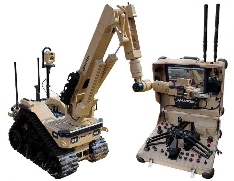Роботы T7 на службе британской армии