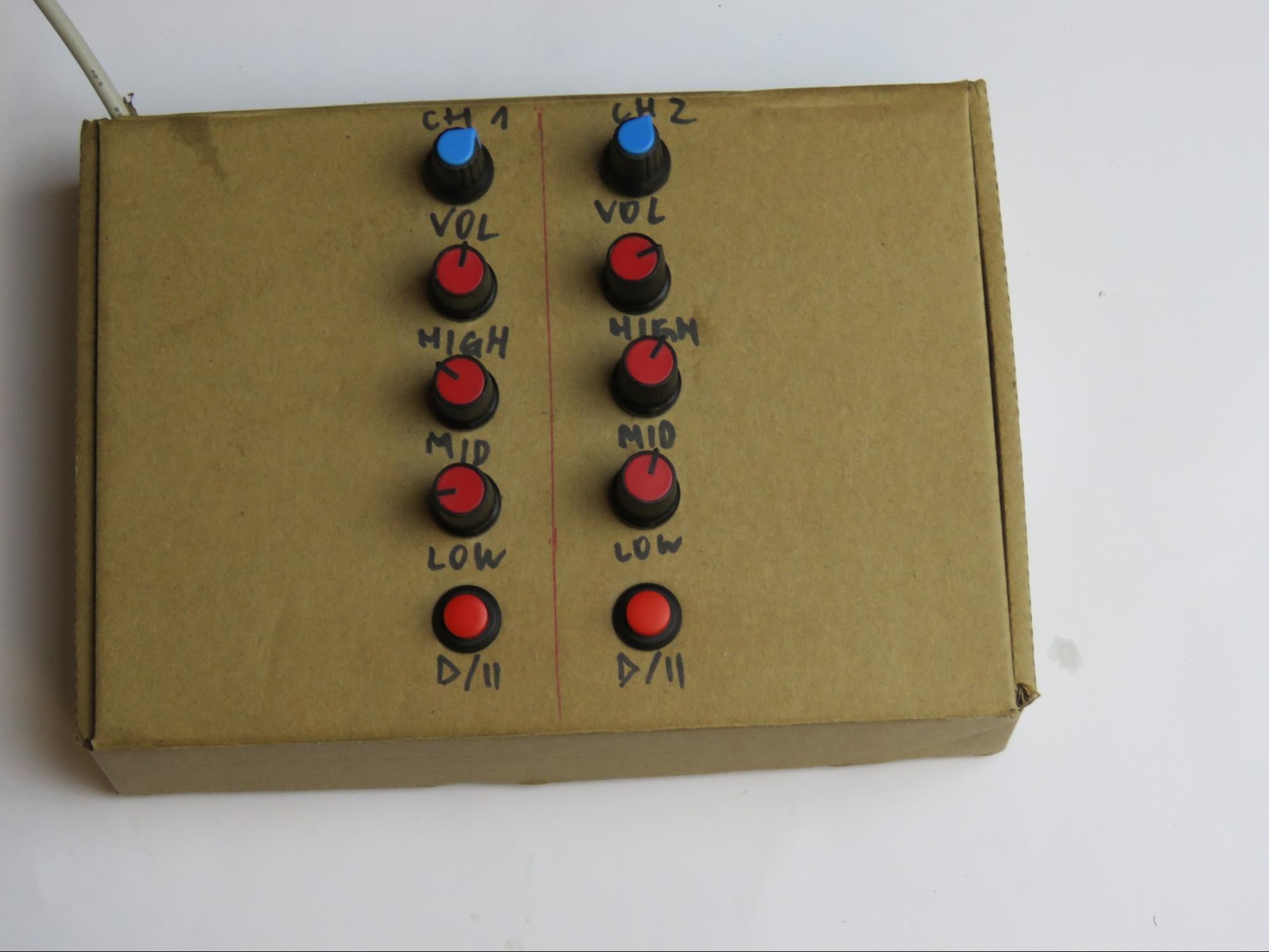 MIDI микшер на Arduino Pro Micro