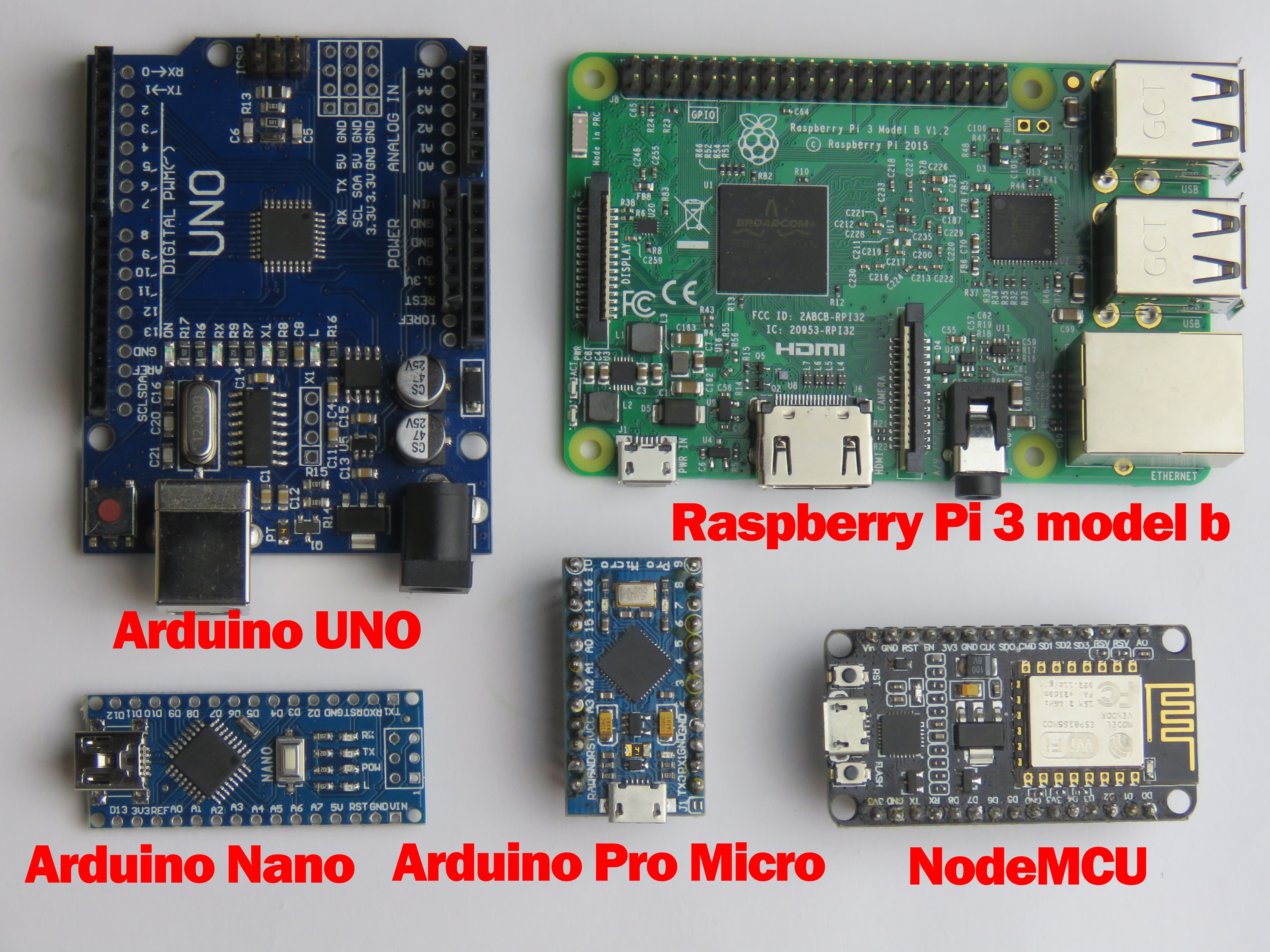 Arduino или Raspberry?