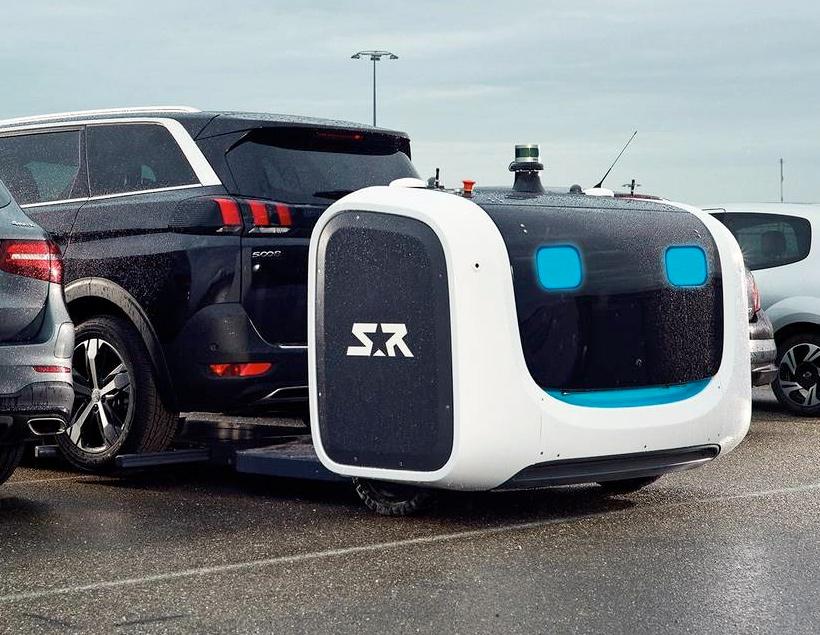 Робот-парковщик сэкономит вам время в аэропорту