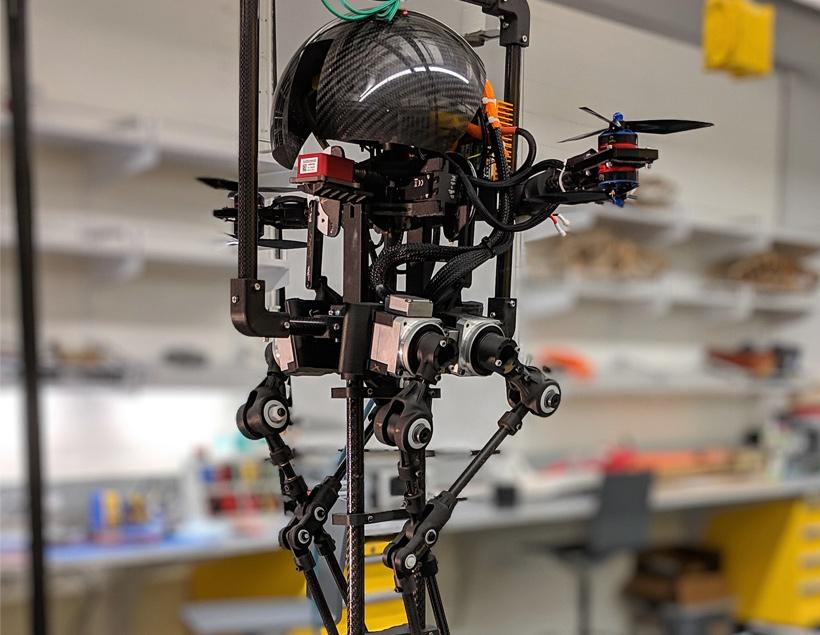Leonardo — гибридный робот из CAST