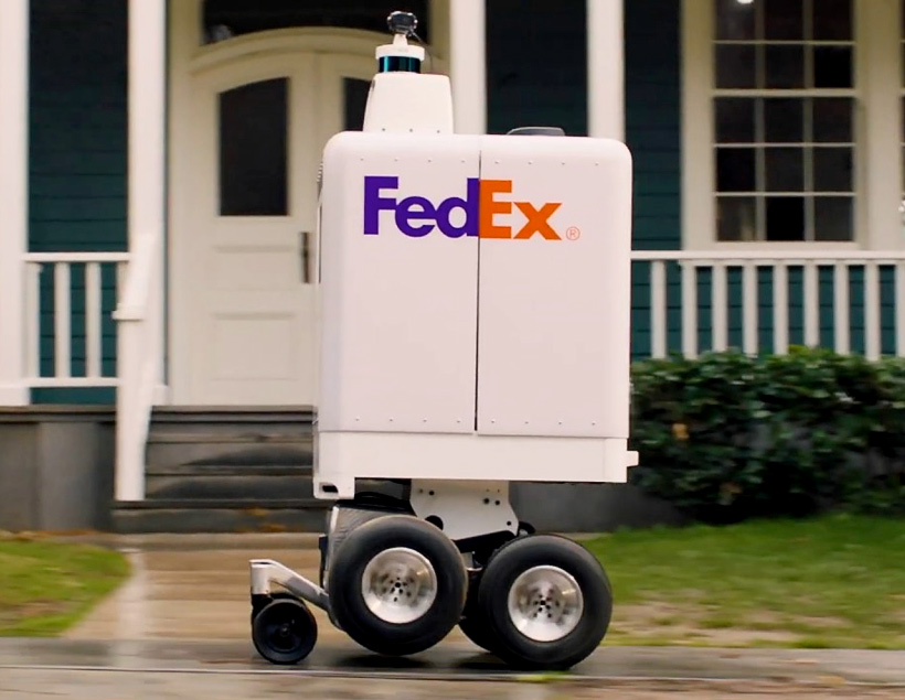 SameDay Bot — колёсный дрон от FedEx