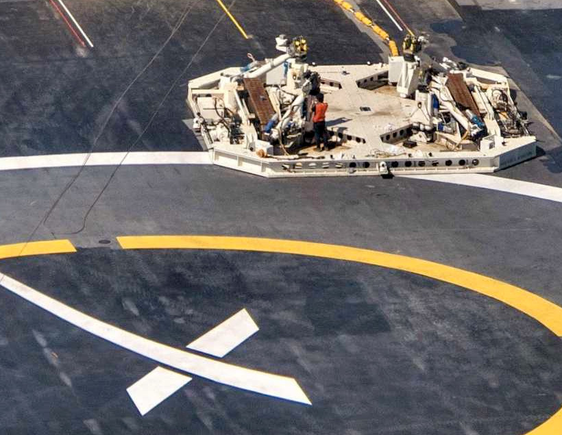 Octagrabber — таинственный робот SpaceX