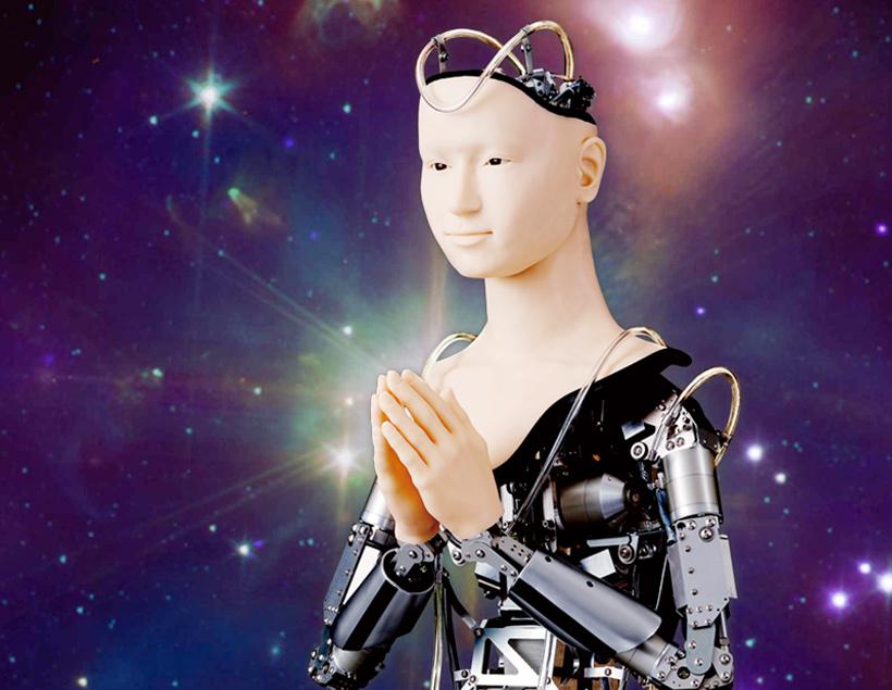 Миндар — японский робот-богиня