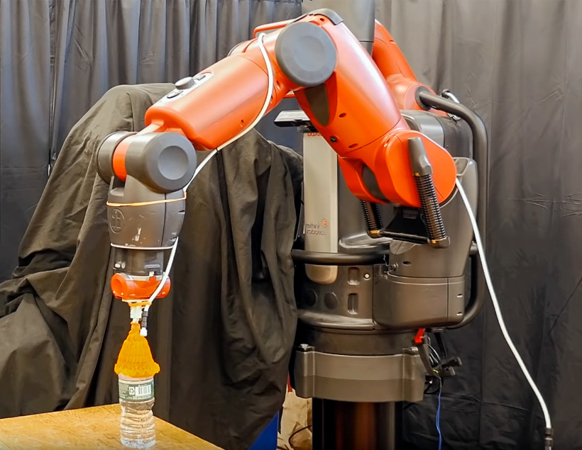 В MIT создали пневмозахват для роботов