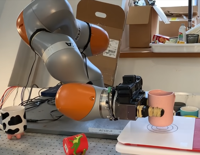 В MIT научили роботов хватать всё подряд