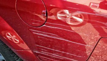 Как заполировать царапины на машине своими руками