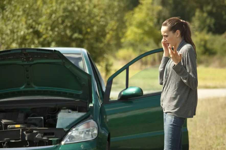 Как быть, если в машине закончился бензин на трассе