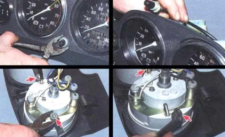 Замена спидометра в автомобиле: самостоятельное пошаговое выполнение работ